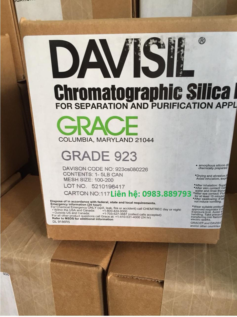 Silicagel D1319 hãng Grace Davisil