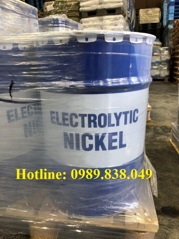 Niken - Nickel kim loại cho ngành mạ điện, đúc
