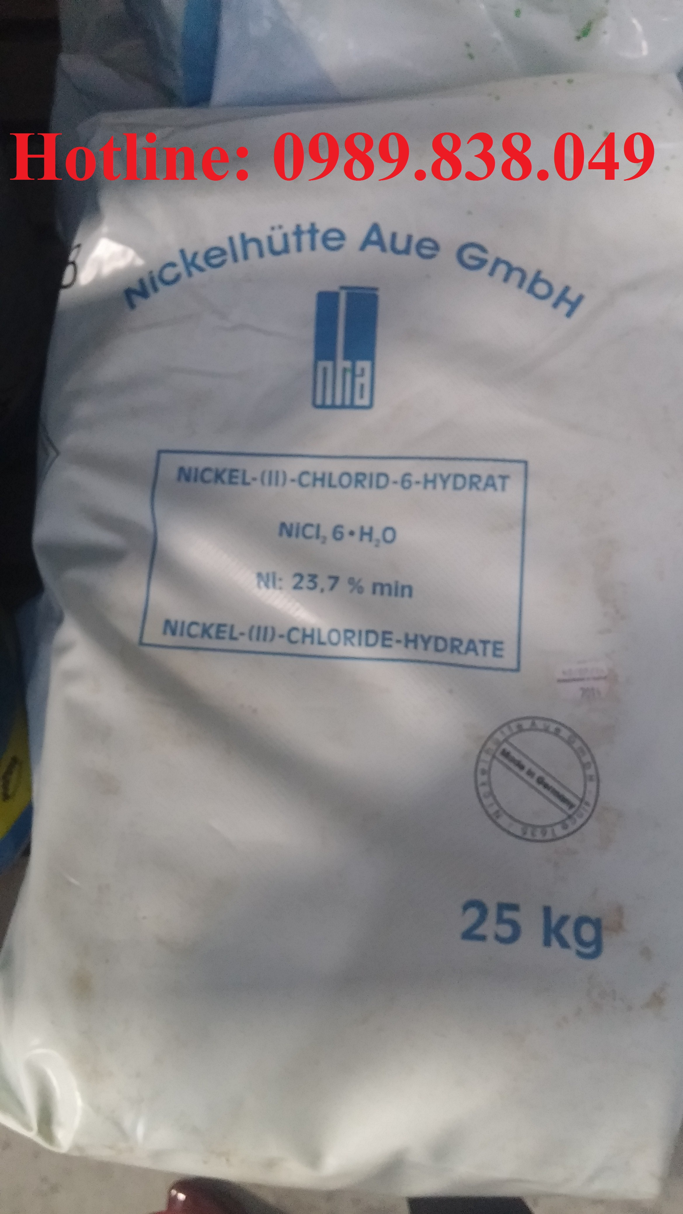 Niken clorua - NiCl2 - Nickel Chloride