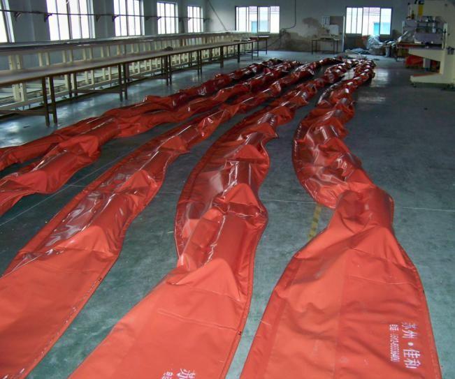 Phao quây dầu tràn tự nổi PVC (WGV)