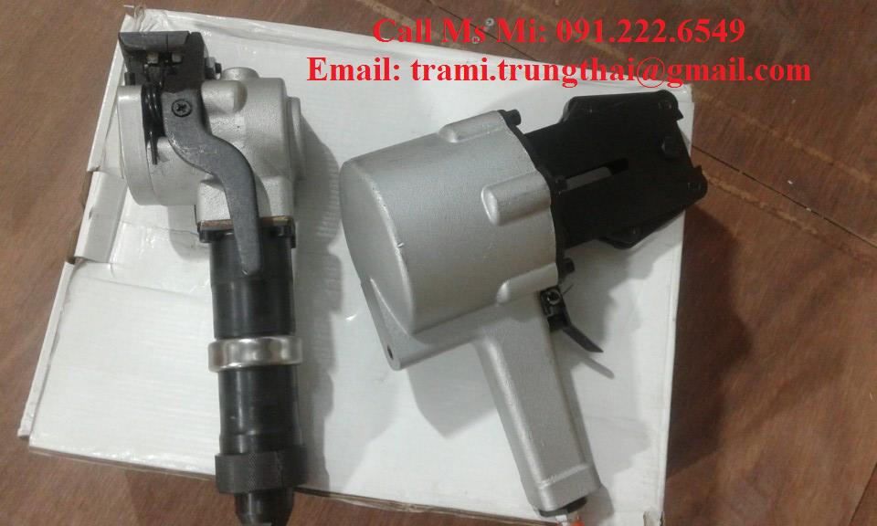 Máy đóng đai thép dùng hơi khí nén KZL32 & KZS32
