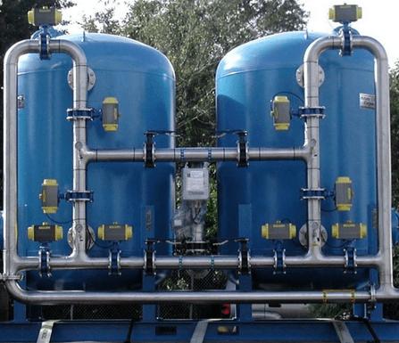 Hệ thống bồn lọc áp lực