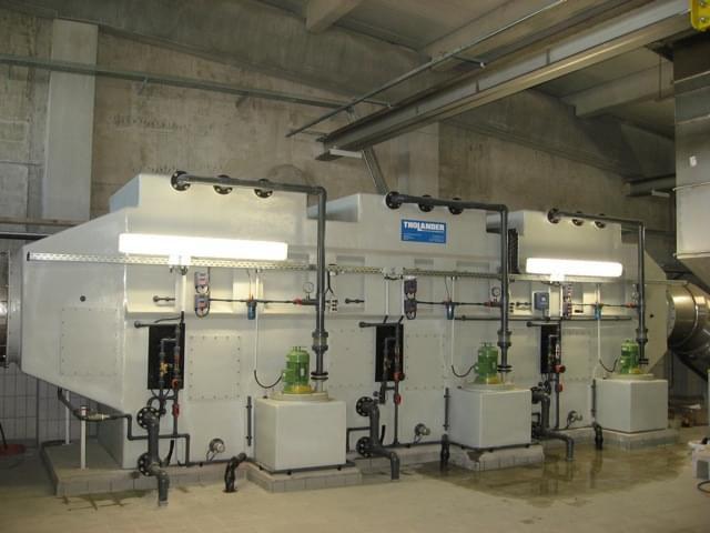 Hệ thống lọc ẩm đa giai đoạn - Multi Stage Scrubber