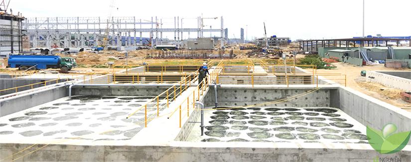 Công ty Lê Nguyễn đang triển khai công trình