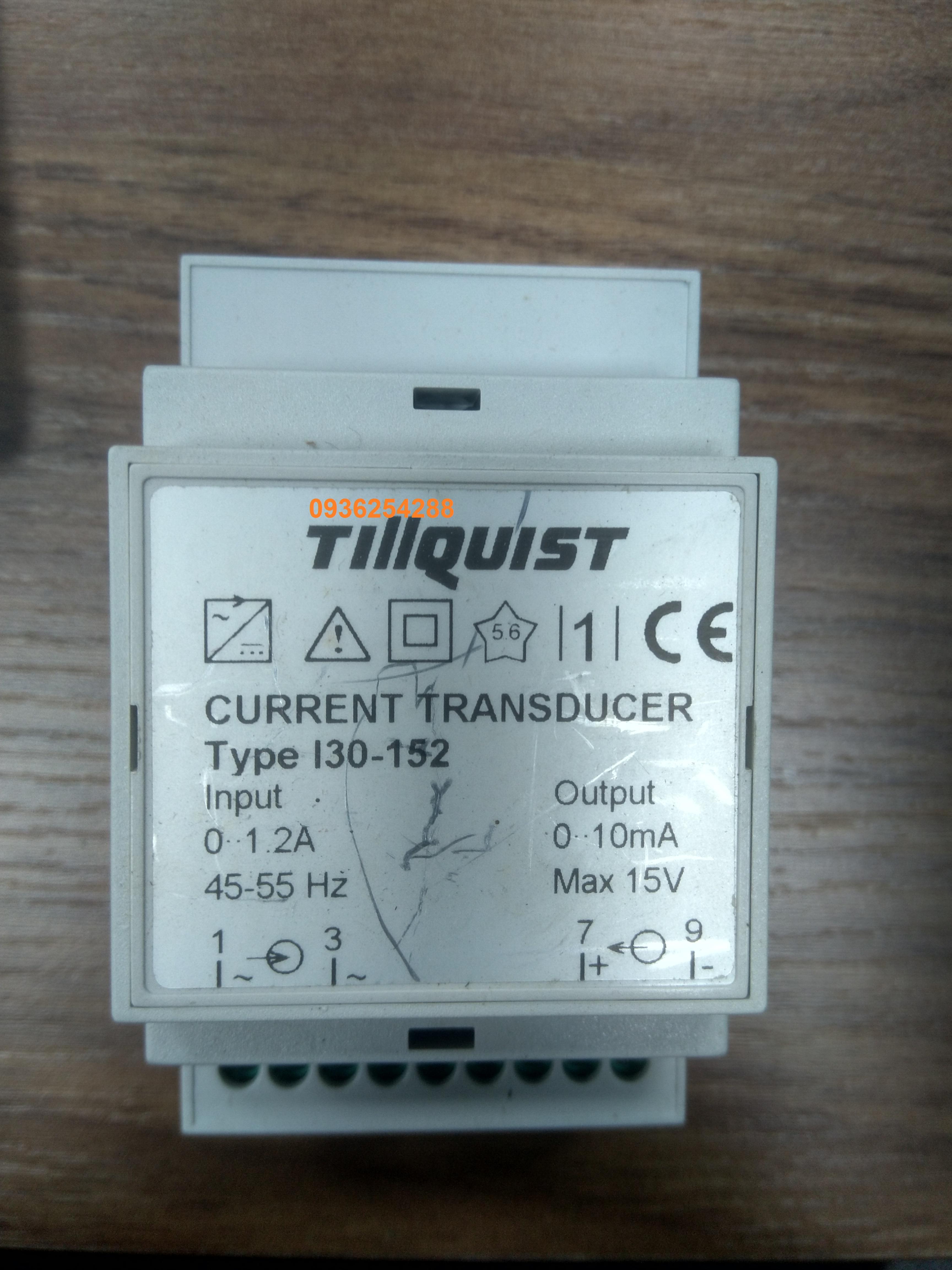 Bộ chuyển đổi dòng điện Current transducer TillQuist I30-152