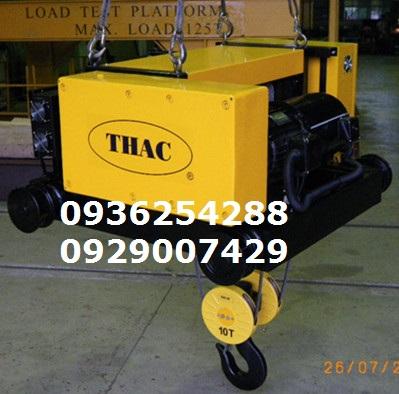 Tời điện Đài Loan- THAC 10 tấn