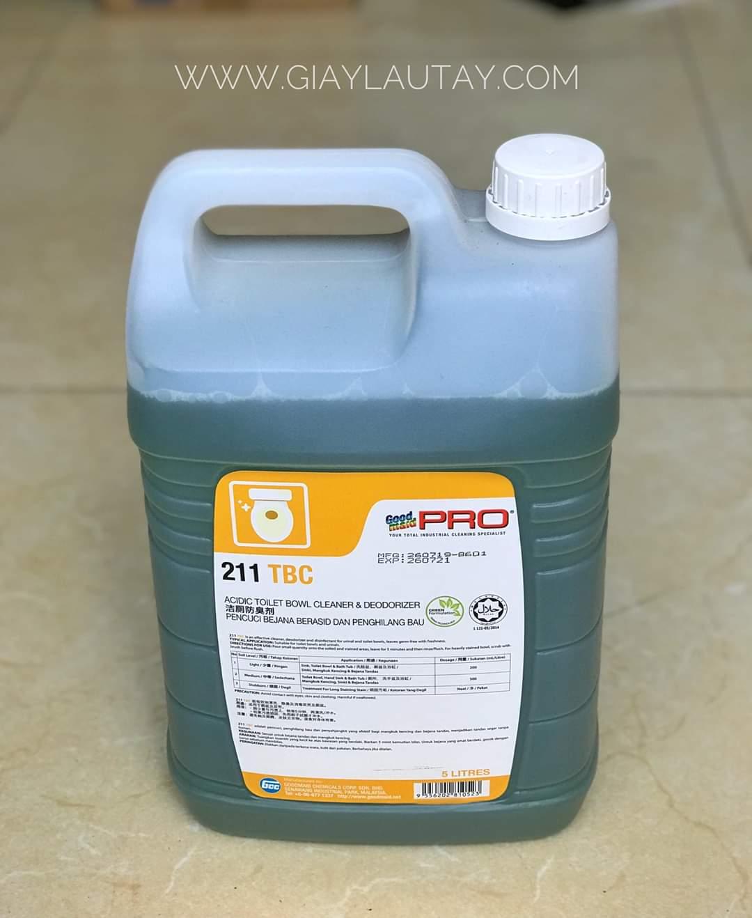 Dung dịch tẩy rửa vệ sinh chuyên dụng Goodmaid Pro TMGMP-211