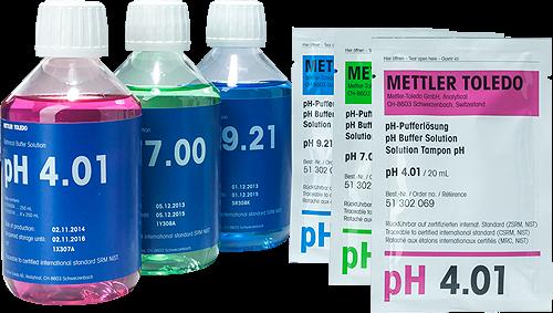 Dung dịch chuẩn pH, Mettler Toledo