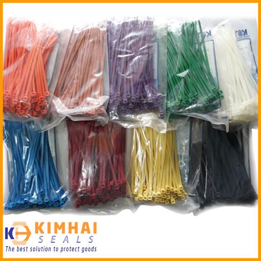 Dây rút nhựa nhiều màu (3.6x150 mm)- Chịu nhiệt cao, không bay màu