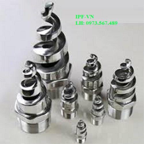 Béc phun nước dạng xoắn ốc inox 316L DN20