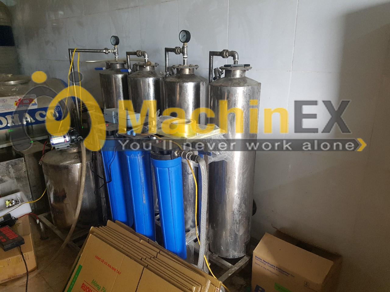 Máy lọc rượu công suất 500 lít/h