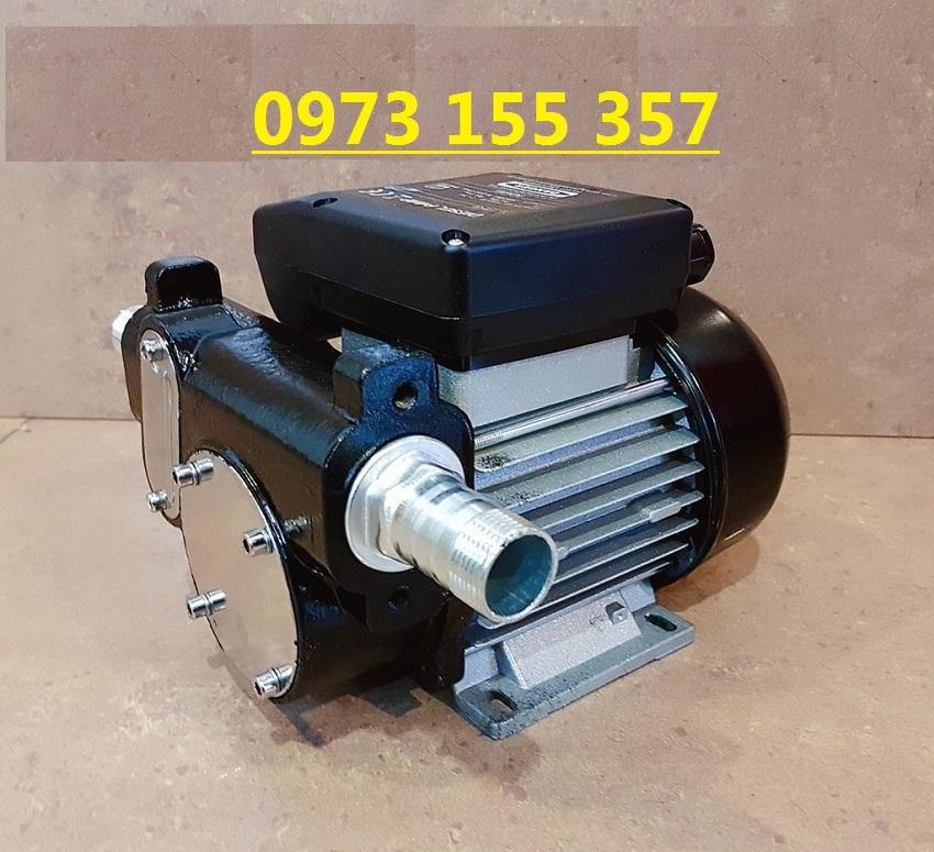Bơm dầu diesel DTP-60, máy bơm dầu diesel 220V, máy bơm dầu diesel 60 lít/phút