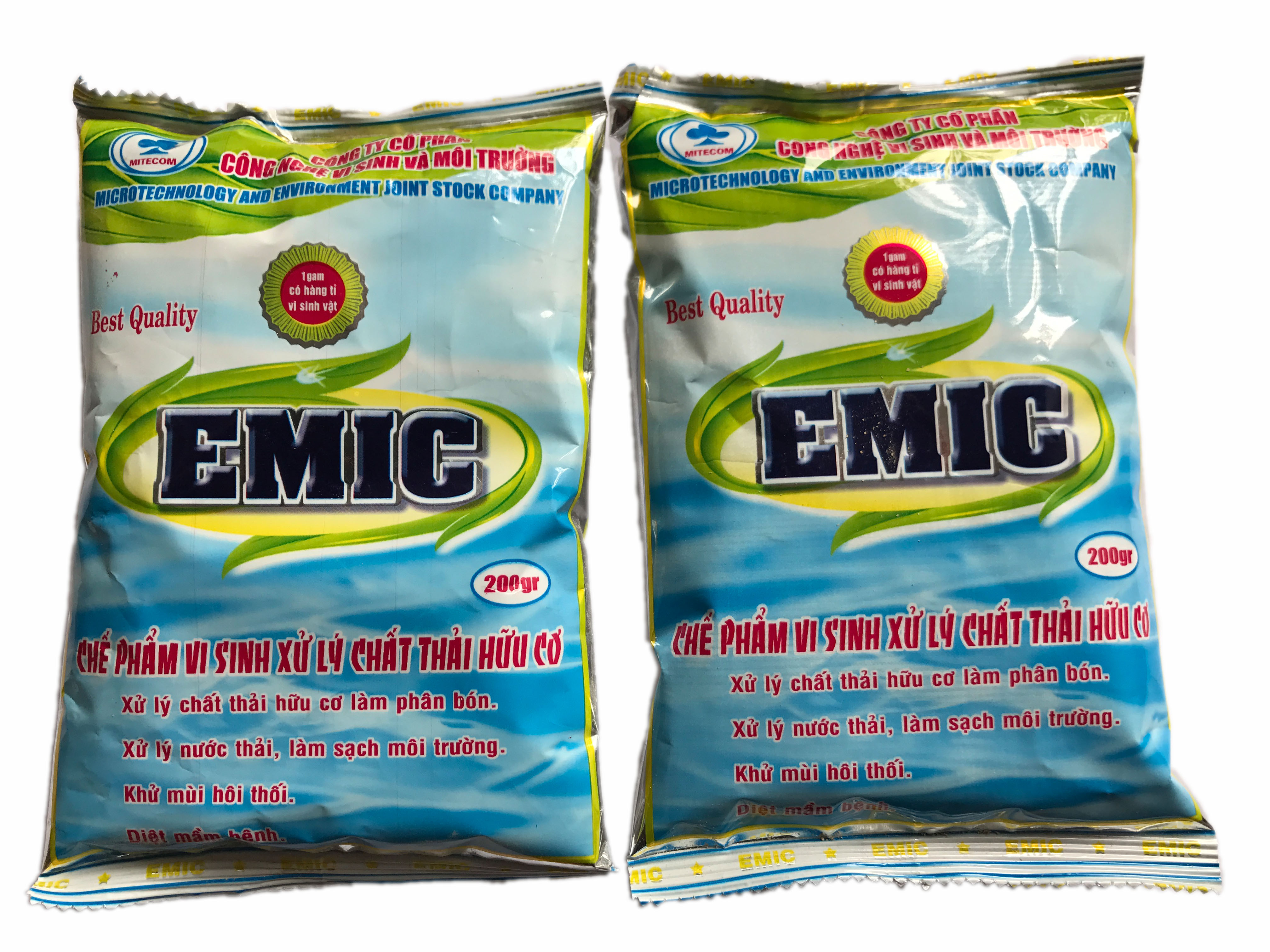 Chế phẩm vi sinh xử lý chất thải hữu cơ EMIC