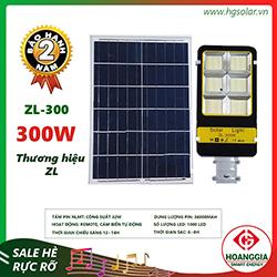 Đèn đường năng lượng mặt trời ZL-88 300w
