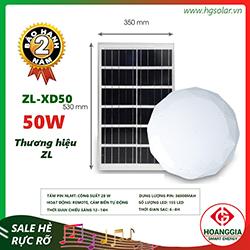 Đèn ốp trần năng lượng mặt trời XD50 50W