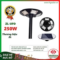 Đèn ufo năng lượng mặt trời 250W