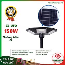 Đèn ufo năng lượng mặt trời 150W