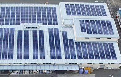 Lắp đặt điện mặt trời áp mái cho khu công nghiệp tại Hải Phòng