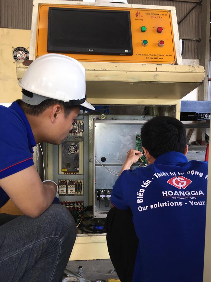 Cung cấp dịch vụ sửa chữa biến tần, cung cấp IGBT, linh kiện, Broad mạch biến tần