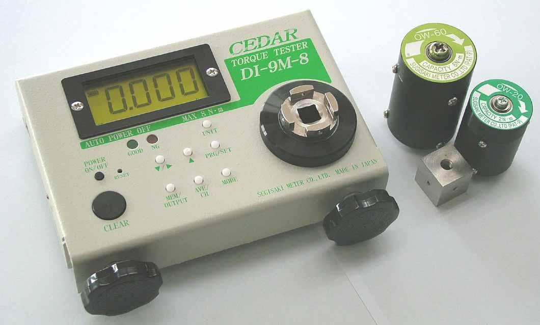 Thiết bị đo lực xoắn Cedar model DI-9M-8