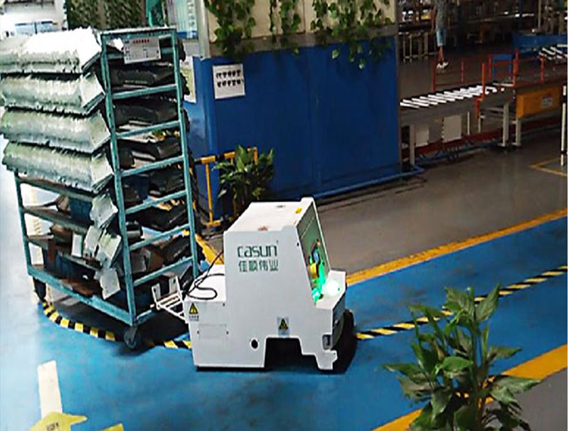 Máy kéo đơn kiểu AGV