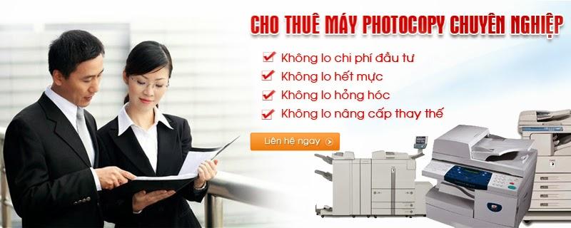 Cho thuê máy Photocopy cấu hình cao tại Thái Bình