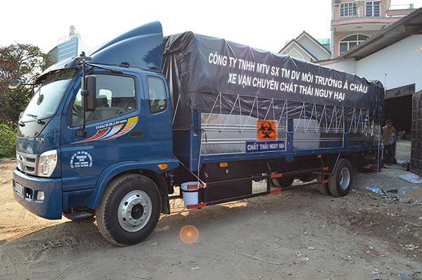 Dịch vụ vận chuyển, xử lý chất thải nguy hại