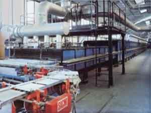 Xử lý bụi sản xuất gạch men