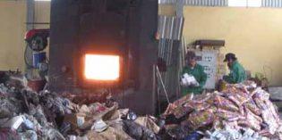 Xử lý chất thải nguy hại bằng phương pháp thiêu đốt