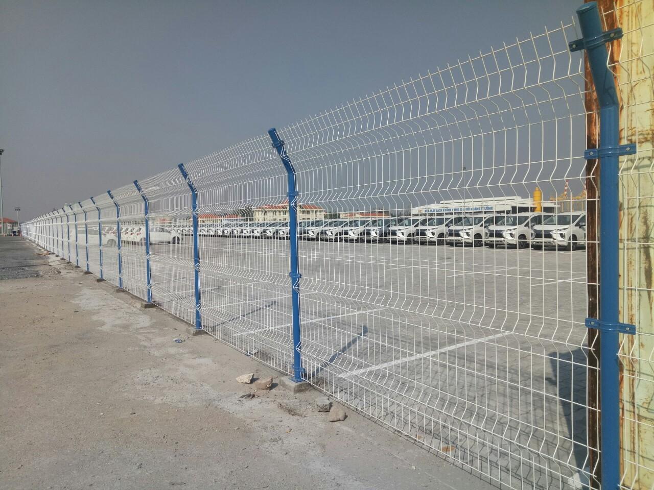 Lưới thép hàn- hàng rào chấn sóng