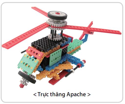 Bộ công cụ sáng tạo ROBOT- HUNA SCIENCE CLASS 1