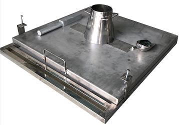 Bàn đo độ cháy xòe của bê tông tiêu chuẩn BS EN 12350-5:2000