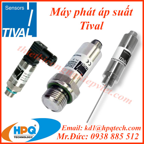 Cảm biến áp suất Tival | Nhà cung cấp Tival tại Việt Nam