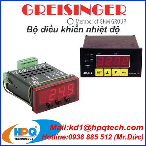 Thiết bị đo Greisinger | Bộ điều khiển Greisinger | Greisinger Việt Nam