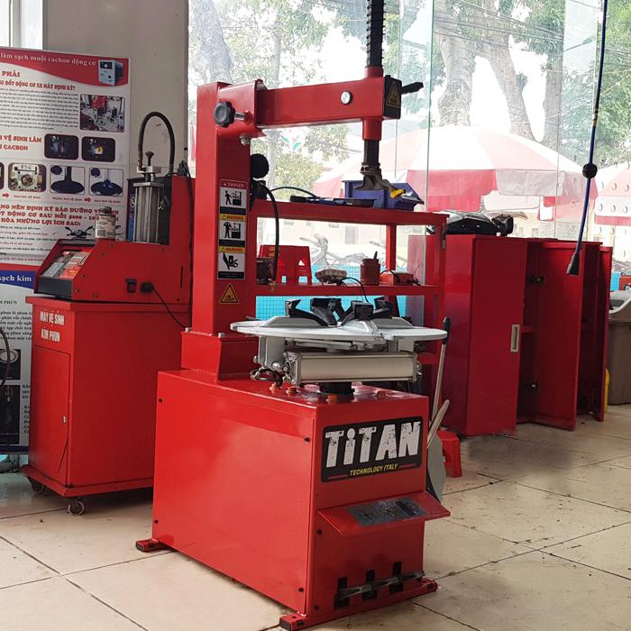 Máy tháo lốp xe máy Titan TP-980