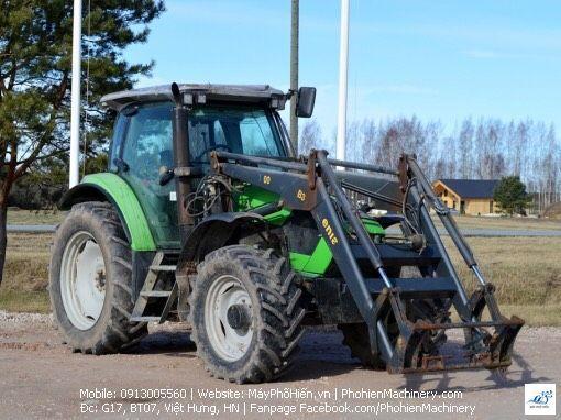 Máy kéo Deutz- Fahr Agrotron K610