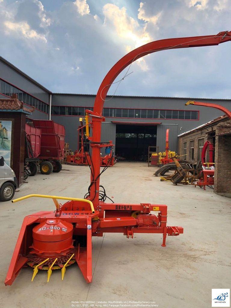 Máy băm ngô-cỏ voi gắn máy kéo dùng cho chăn nuôi