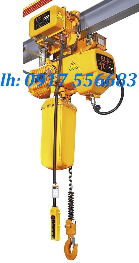 Pa lăng xích điện ELK 1 tấn có di chuyển ngang HKDM0101S