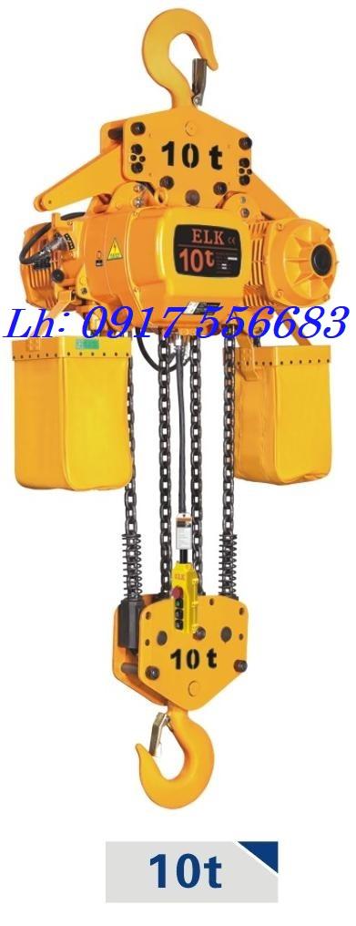 Pa lăng xích điện ELK Kaidao 10 tấn cố định (Mã hiệu HKD1004S)