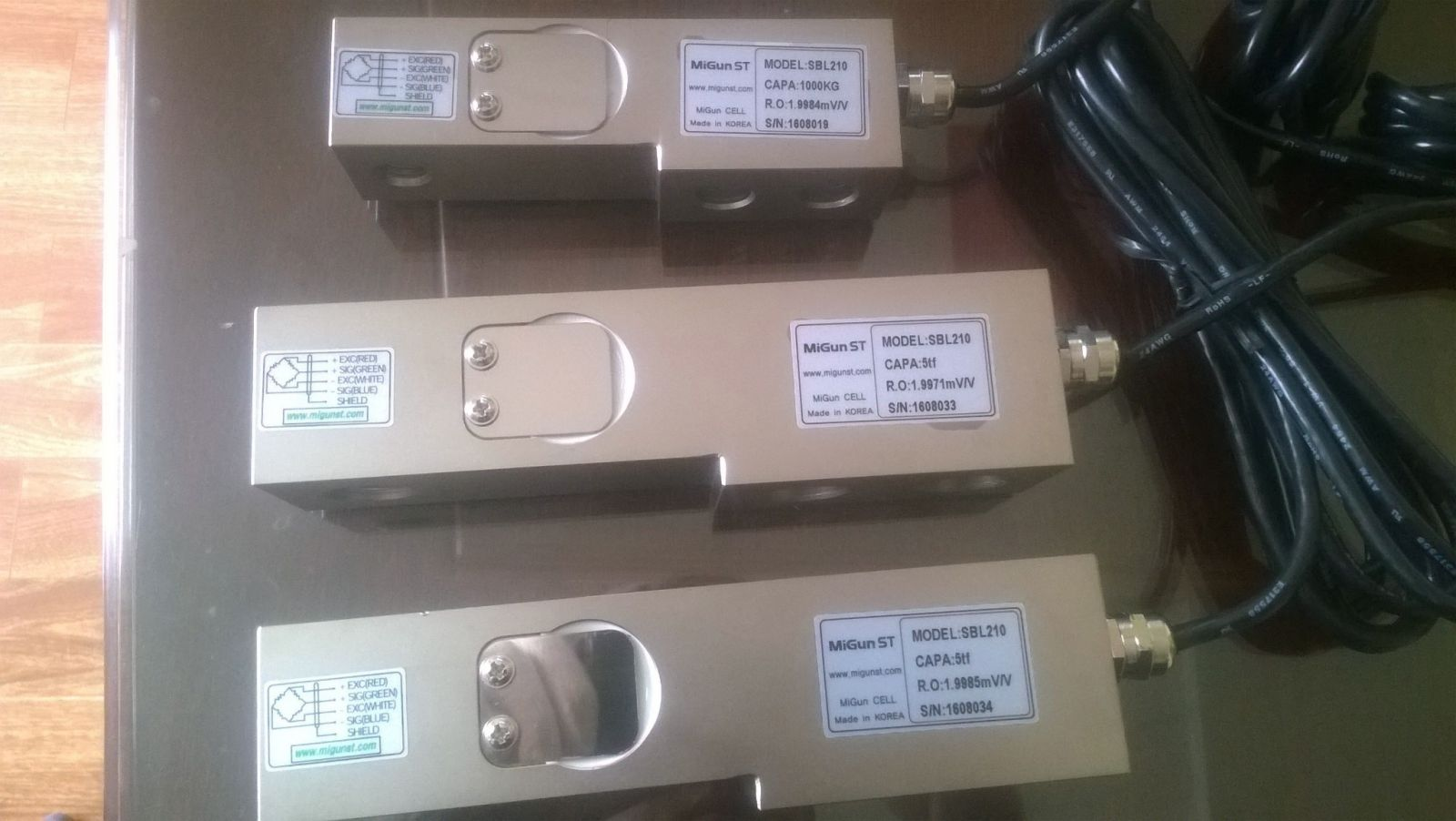 Loadcell dạng thanh SBL 210 - 1000kg