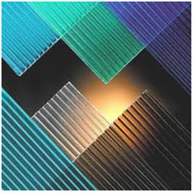 Tấm lấy sáng Polycarbonate loại rỗng GV057