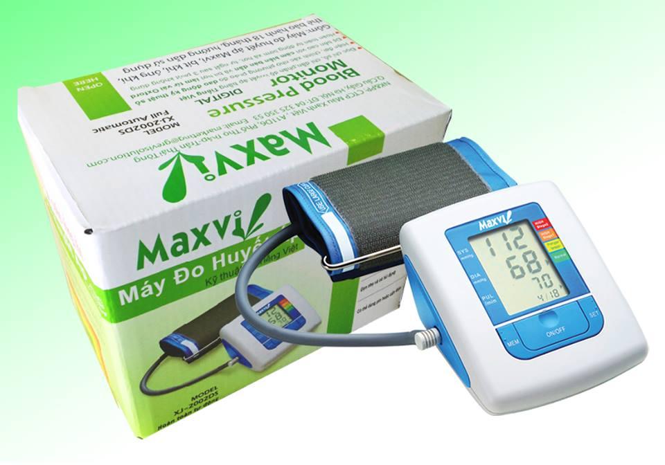 Máy đo huyết áp bắp tay kỹ thuật số Tiếng Việt Maxvi
