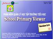 Phần mềm Quản lý học tập nhà trường tiểu học SPVR 5.0 - School Primary Viewer 5.0