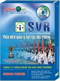Phần mềm Quản lý học tập Nhà trường SVR 6.5 - School Viewer 6.5