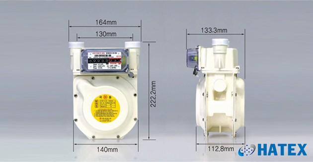 Đồng hồ đo lưu lượng khí gas G2.5