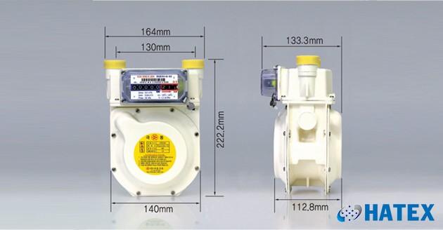 Đồng hồ đo lưu lượng khí gas G4