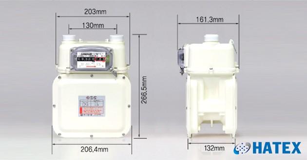 Đồng hồ đo lưu lượng khí gas G6