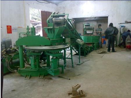 Dây chuyền sản xuất gạch không nung
