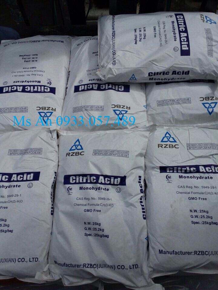 Hoá chất Acid Citric Monohydrate