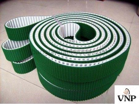 Băng tải PVC dán gân